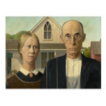 Grant Wood - American Gothic Postcards