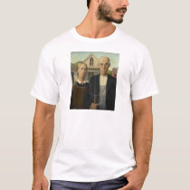 Grant Wood - American Gothic T-Shirt