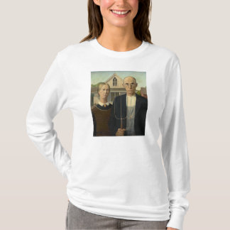 Grant Wood - American Gothic T-Shirt