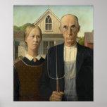 Grant Wood - gótico americano Impresiones