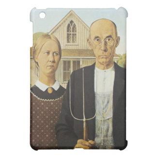 Grant Wood Painting Fine Art iPad Case