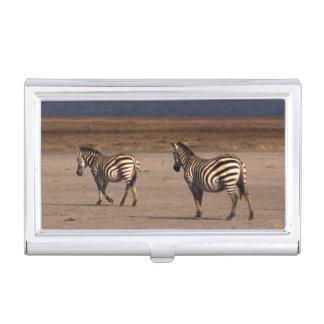 Grant Zebra Business Card Case