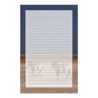 Grant Zebra Customized Stationery