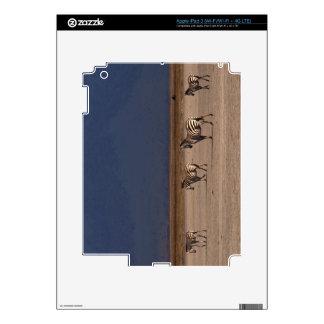 Grant Zebra iPad 3 Decal