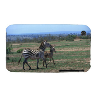 Grant Zebra iPhone 3 Cases
