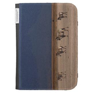 Grant Zebra Kindle Folio Cases