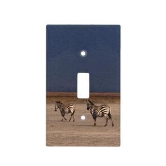 Grant Zebra Light Switch Plates
