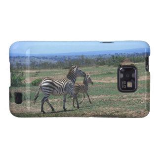 Grant Zebra Samsung Galaxy SII Cases