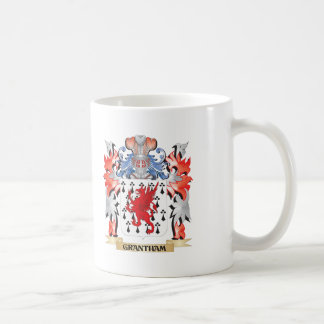 Grantham Coat of Arms - Family Crest Coffee Mug
