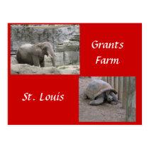 Grants Farm Postcard