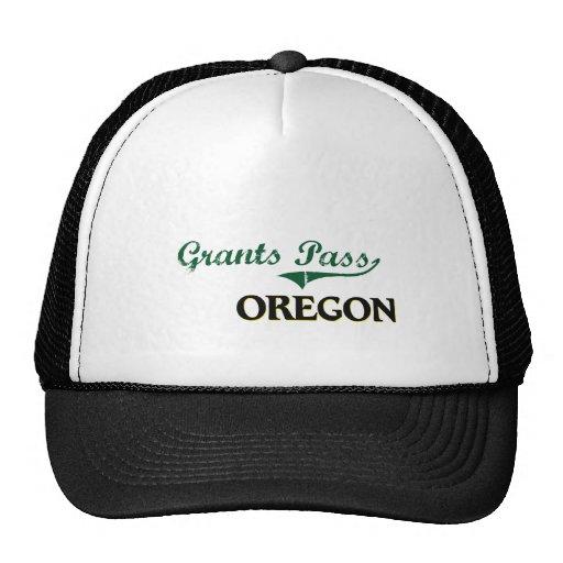 Grants Pass Oregon Classic Design Hats