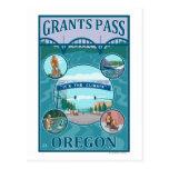 Grants Pass, OregonScenic Travel Poster Postcards