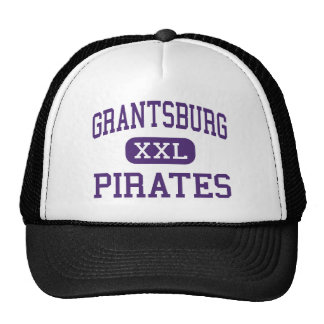 Grantsburg - piratas - alto - Grantsburg Wisconsin Gorro De Camionero