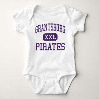 Grantsburg - piratas - alto - Grantsburg Wisconsin Camisetas