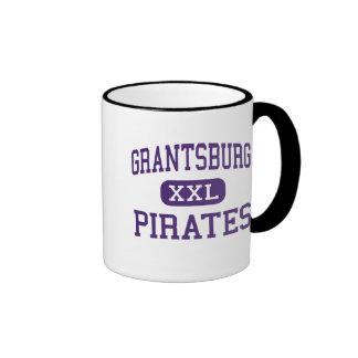Grantsburg - piratas - alto - Grantsburg Wisconsin Taza A Dos Colores