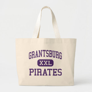 Grantsburg - piratas - joven - Grantsburg Bolsa Tela Grande