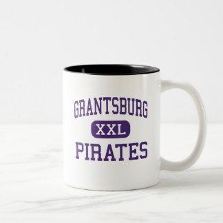 Grantsburg - piratas - joven - Grantsburg Taza Dos Tonos