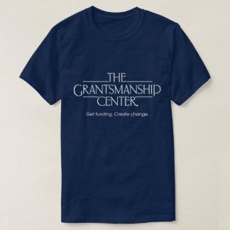 Grantsmanship Logo Mens Dark Crew Neck Tee