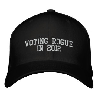 Granuja de votación en 2012 gorra de beisbol bordada