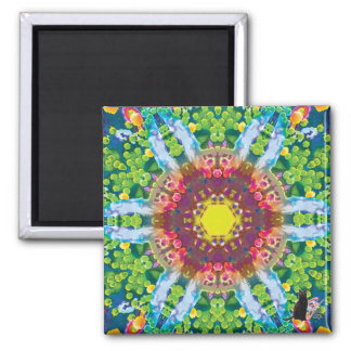 Granular Kaleidoscope Magnet