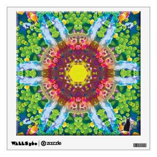 Granular Kaleidoscope Wall Decal