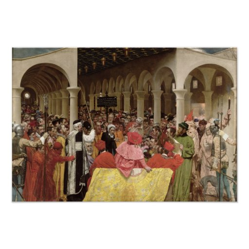 Granvelle y la bruja, 1877 poster