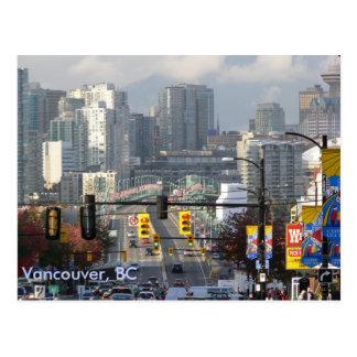 Granville Bridge, Vancouver, BC Postcard