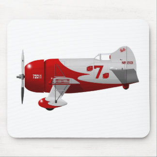 "Granville Brothers Aircraft  ""Gee Bee R-1"" Mouse Pad"