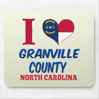 Granville County North Carolina Mouse Pads