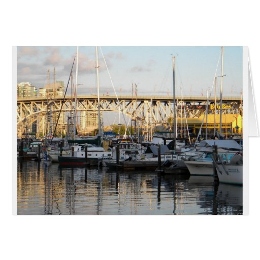 Granville Island, Vancouver, British Columbia Greeting Card