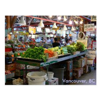 Granville Market - Vancouver, BC Postcard