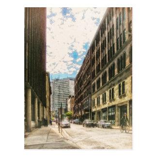 Granville Street Halifax by Shawna Mac Postcard