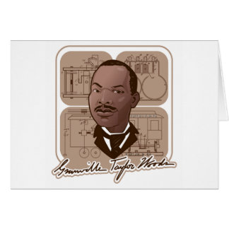Granville T Woods Products w/ Text & Photo #600 Card