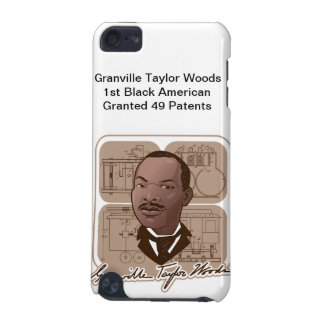 Granville T Woods Products w/ Text & Photo #600 iPod Touch 5G Case