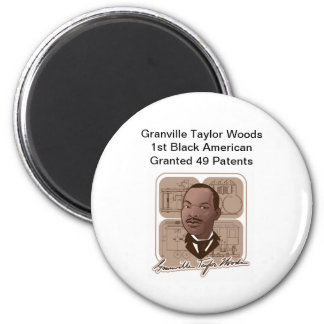 Granville T Woods Products w/ Text & Photo #600 Magnet
