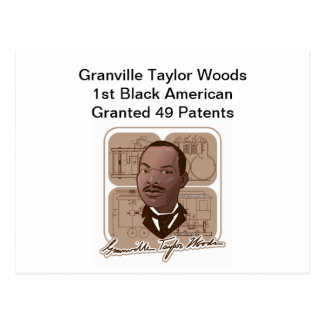 Granville T Woods Products w/ Text & Photo #600 Postcard