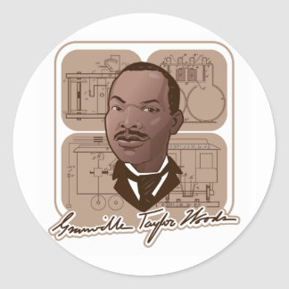 Granville Taylor Woods Multiple Products #500 Classic Round Sticker