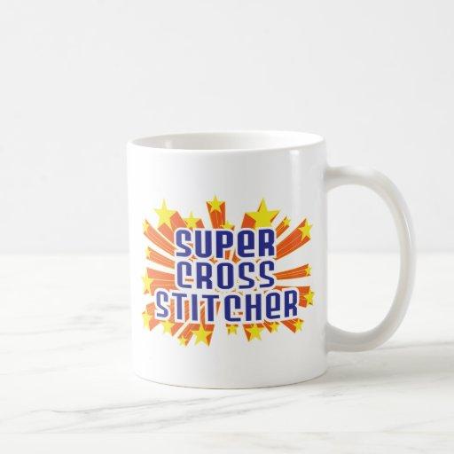 Grapadora cruzada estupenda taza