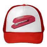 Grapadora roja gorra