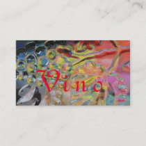 Grape Abstract Art Business Card