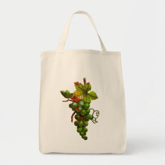 GRAPE ART TOTE BAG
