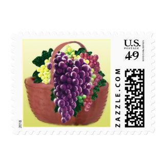 Grape Basket Custom Postage (Sml)