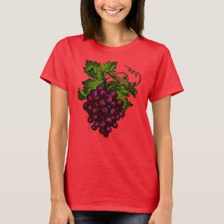 Grape Bunch Dripping Blood Women's Basic T-Shirt