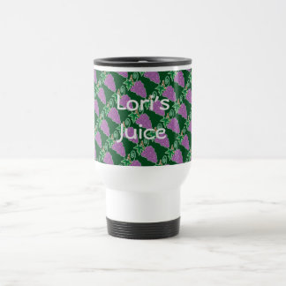 Grape Bunches My Juice Travel Mug