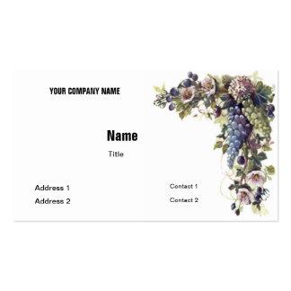 Grape Business Card Template