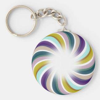 Grape Carrot Candy Swirls Keychains