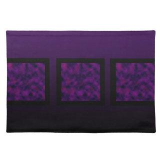 Grape Cranberry Cloud Cloth Placemat