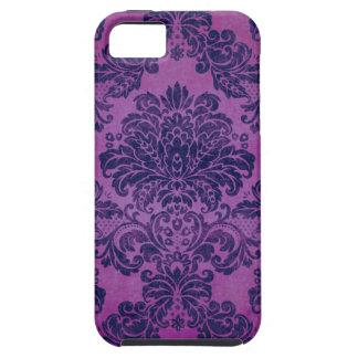 Grape Damask iPhone SE/5/5s Case