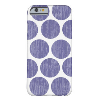 Grape Distressed Polka Dot iPhone 6 Barely There iPhone 6 Case