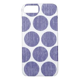 Grape Distressed Polka Dot iPhone 7 iPhone 8/7 Case